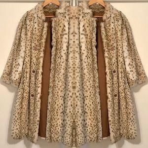 Authentic Vintage 60s Faux Fur